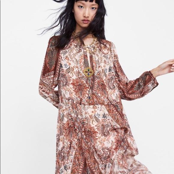 b59f90039e NWT Zara maxi dress
